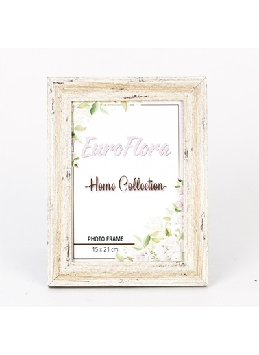 Euro Flora Euro Flora Dekoratif Eskitme Çerçeve 15X21 Cm Renkli